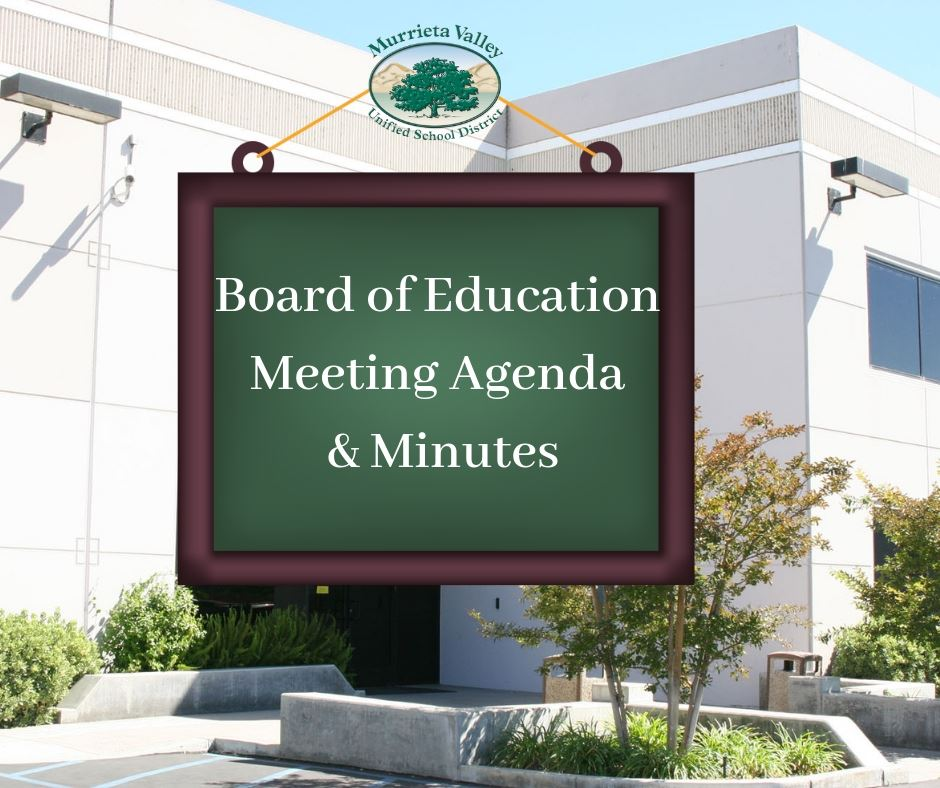 Board of Education Agendas