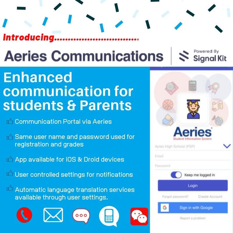 Aeries Communication