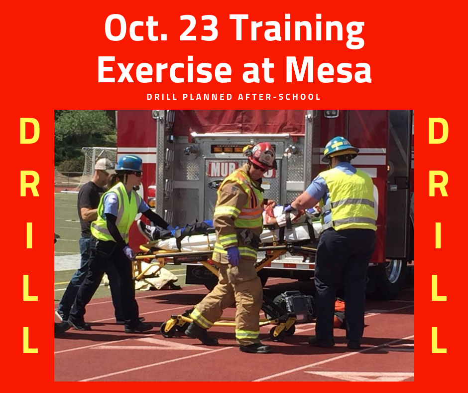 Training Exercise at Mesa