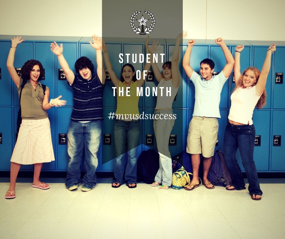 Student of the Month-January