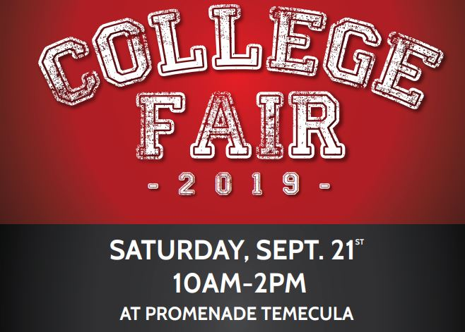 College Fair - Don't miss out on this opportunity to make connections.