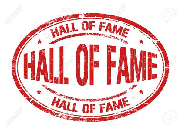 First Annual Hall of Fame Induction
