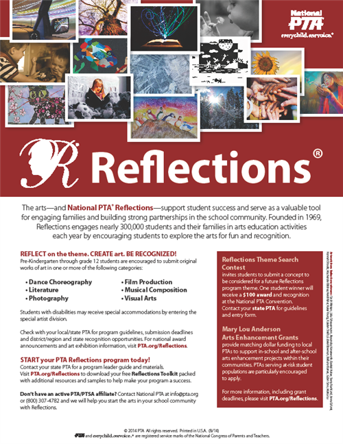 Reflections Flyer