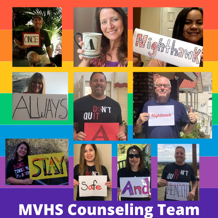 MVHS Counseling Team