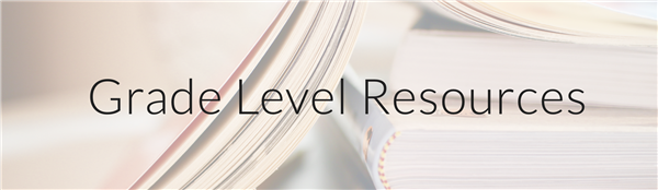 Grade Level Resources