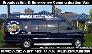 Bronco News Van