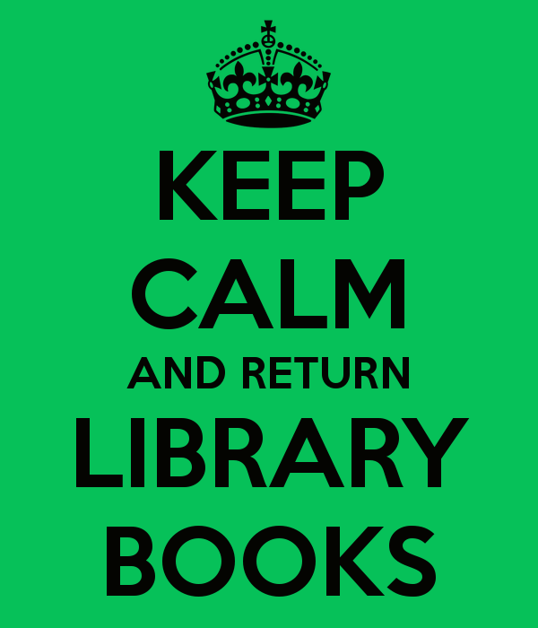 Library Books Return Schedule