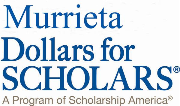 Murrieta Dollars for Scholars logo