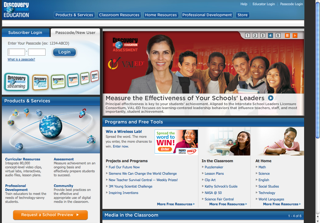 discovery education assignments Discovery education is the global leader in standards-based digital content for k-12, transforming teaching and learning with award-winning digital textbooks, multimedia content, professional development, and the largest professional learning community of its kind.