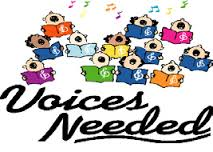 Choir for 3rd-5th Grade Sign-up