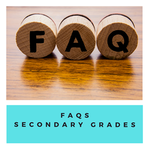 Secondary FAQs