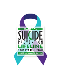 Suicide Prevention Week Ribbon