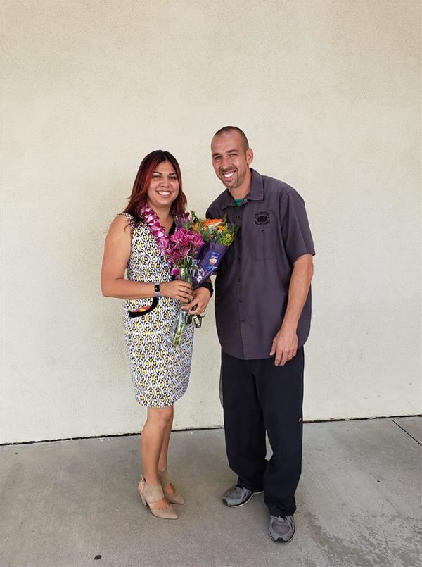 Congratulations Ms. Guzman and Mr. JJ
