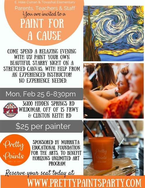Paint For A Cause!