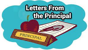 Click this image to view the letter from our Principal