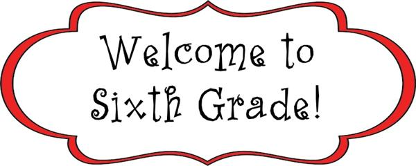 Information for incoming sixth graders
