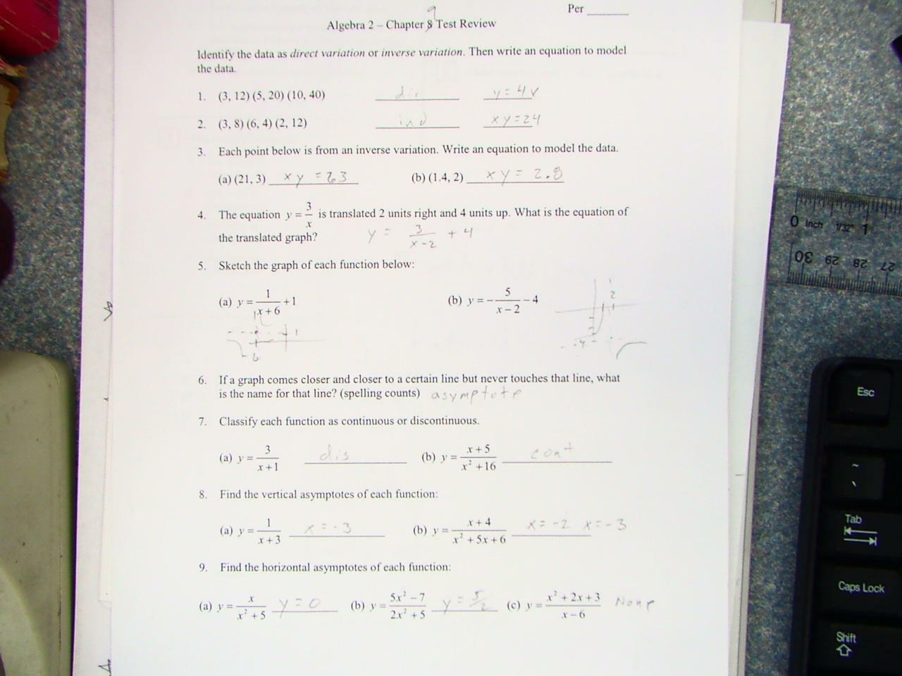 Course 2 chapter 10 statistics answer key
