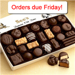 See's Candy Orders Due Friday
