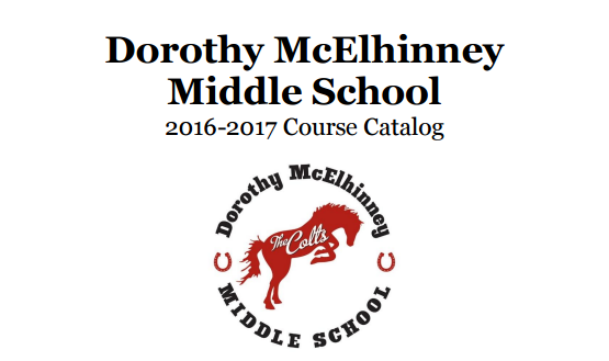 Click here to view the DMMS Course Catalog