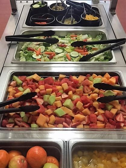 salad bar is part of free and reduced priced meals